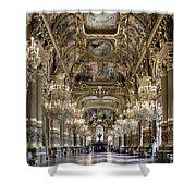 Palais Garnier Grand Foyer Shower Curtain