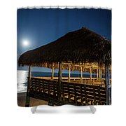 Palapa Paradise Shower Curtain