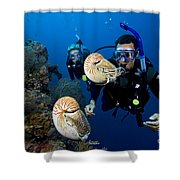 Palau Underwater Shower Curtain