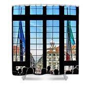 Palazzo Madama.torino Shower Curtain