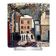 Palazzo Vecchio Shower Curtain