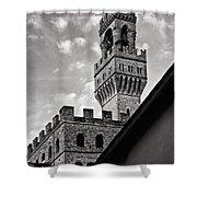 Palazzo Vecchio Tower Shower Curtain