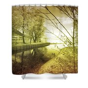 Pale Reflections Of Life Shower Curtain
