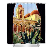 Palermo Italy Shower Curtain