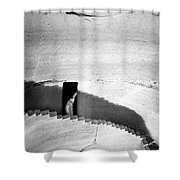 Palestine: Cave Shower Curtain