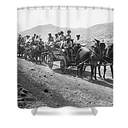 Palestine Colonists, 1920 Shower Curtain