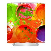Palette Shower Curtain
