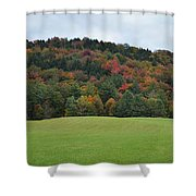 Autumn Palette Shower Curtain