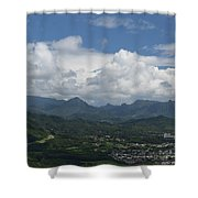 Pali Overlook Shower Curtain