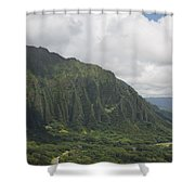 Pali  Shower Curtain