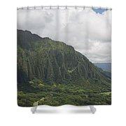 Pali  Shower Curtain