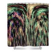 Palimpsest Shower Curtain