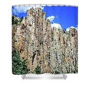 Palisades - Cimarron Canyon State Park - New Mexico Shower Curtain