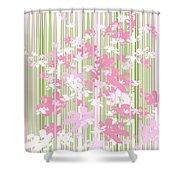 Palm Beach Floral II Shower Curtain