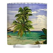 Palm Beach Shower Curtain