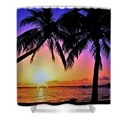 Palm Bliss Shower Curtain