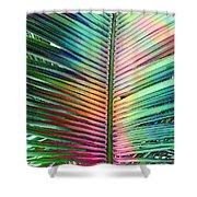 Palm Leaf Art Shower Curtain