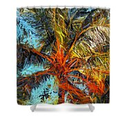 Palm No. 1 Shower Curtain