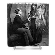 Palm-reading, C1910 Shower Curtain