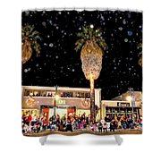 Palm Springs Holiday Parade 2015 Shower Curtain
