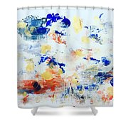 Palm Springs No 2 Shower Curtain