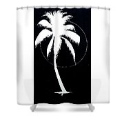 Palm Tree Number 8 Shower Curtain
