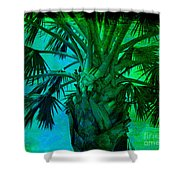 Palm Visions Shower Curtain