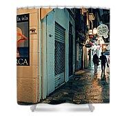 Palma De Mallorca Shower Curtain