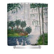 Palmetto Bayou Shower Curtain