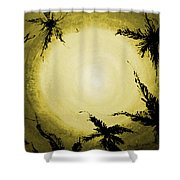 Palms Old Shower Curtain