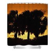 Palmset Shower Curtain