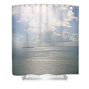 Palomino Island Shower Curtain