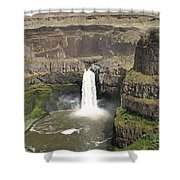 Palouse Falls 3 Shower Curtain