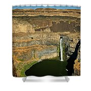 Palouse Falls Shower Curtain