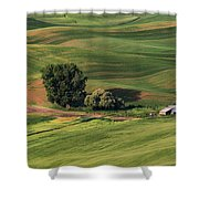 Palouse Farm 1 Shower Curtain