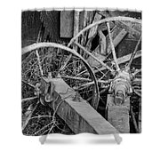 Palouse Farm Wheels 3156 Shower Curtain