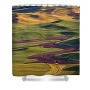 Palouse Hills Shower Curtain