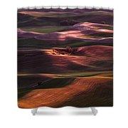 Palouse Undulation Shower Curtain