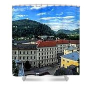 Pamramic Of Salzburg  Shower Curtain