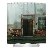Pan Dulce Man Shower Curtain