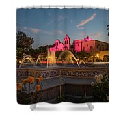 Panama Fountain Shower Curtain