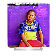 Panama Kids 967 Shower Curtain