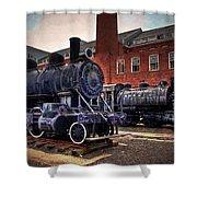 Panama Railroad Locomotive 299 Shower Curtain