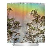 Panama Rainbow Shower Curtain
