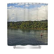 Panama011 Shower Curtain