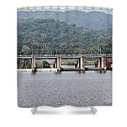 Panama044 Shower Curtain