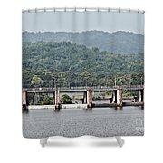 Panama045 Shower Curtain