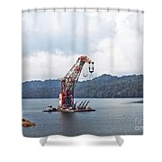Panama046 Shower Curtain