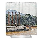 Panama048 Shower Curtain