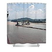 Panama049 Shower Curtain